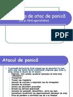 Tulburarea de Atac de Panica