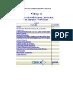 NEC 16 Corrección Monetaria integral de Estados Financieros