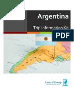 trip info kit argentina