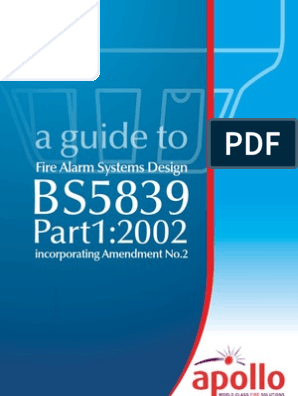 A Guide to Fire Alarm System Design BS 5839 Part 1:2002 | Cable ...
