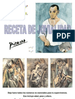 Receta de Jovialidad Pablo Picasso y Mercedes Sosa