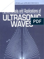 # Fundamentals and Applications of Ultrasonic Waves