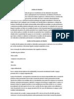Análise de Modelo - escrita