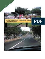 Ley Trasporte Terrestre Transito y Seguridad Vial