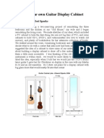 (Book) Building Your Own Guitar Display Cabinet
