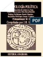 Antropología política (Llovera)