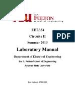 Circuits 2 Lab Manual