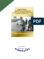 DEMOGRAFIA MERCADO DE TRABAJO ESPAÑA UE
