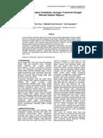 Penentuan Indeks Kestabilan Jaringan Transmisi Dengan Metode Newton Rapson