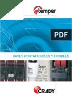 Bases Portafusibles y Fusibles