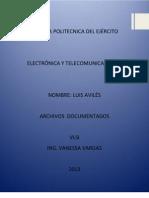 Documentos Aviles