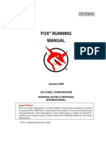 FOX Running Manual