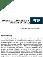 Fonseca. Conquista Costa Rica