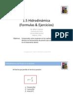 UACH-Fisica-en-la-Odontologia-1-5-Hidrodinamica-Fórmulas y ejercicios