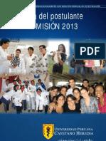 Guia Postulante 2013