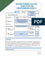 Microcurriculo de Electiva de Profundizacion II