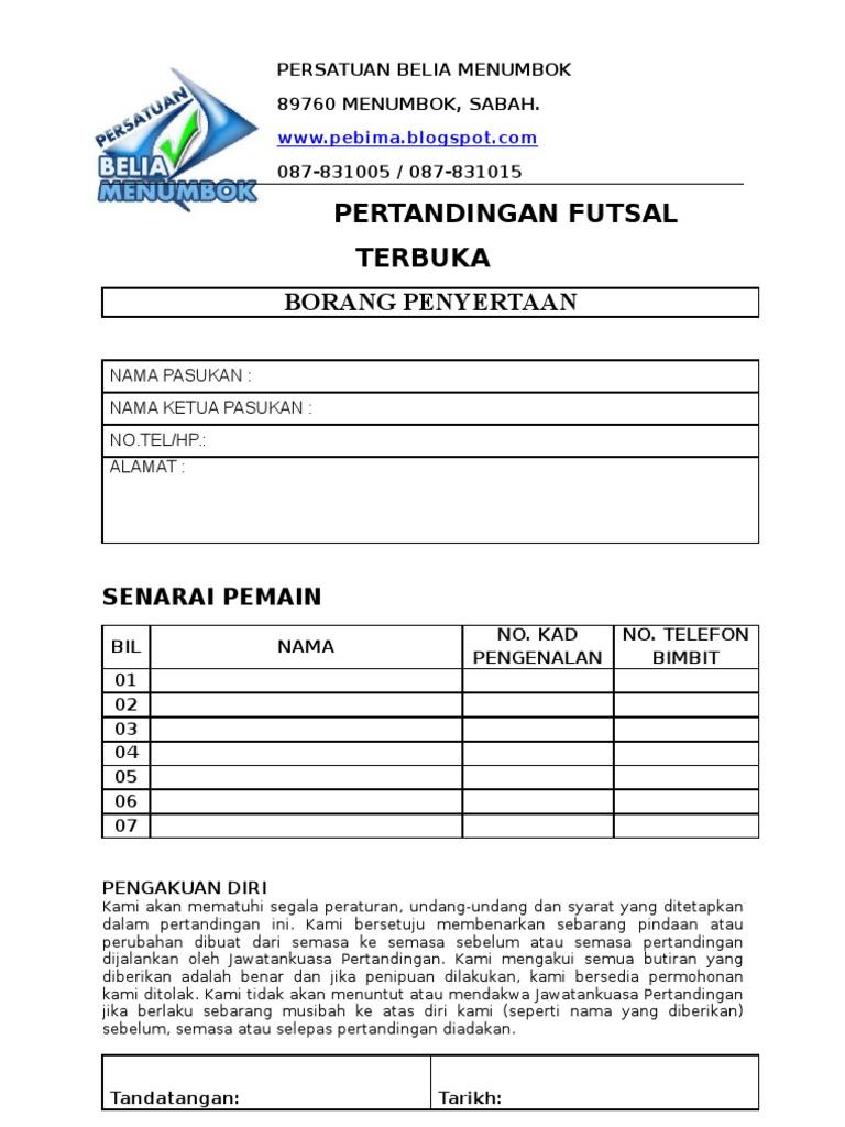 66 Info Download Contoh Formulir Pendaftaran Ziarah Tutorial Pdf