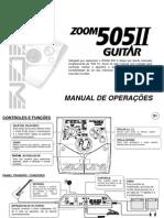 14467515 Manualzoom505 II Portugues