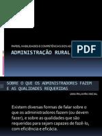 Adm Rural Aula 3 Habilidades e Competencias