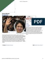 Khaleda Zia, The Most Powerful Women - Forbes 2006