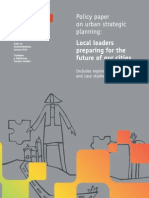 UCLG (2010) Policy Paper on Urban Strategic Planning
