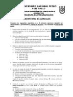Laboratorio 03 - TP - Arreglos- 2012-II
