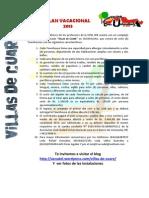 Plan Vacacional Accudel 2013