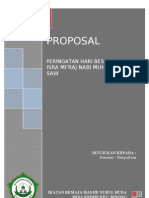 Proposal Isra Mi'Raj