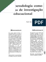 Aula 9 - Ribeiro Etnometodologia