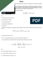 Dimensionamento de Dutos