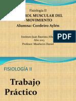 Control Muscular Del Movimiento - CORDEIRO 3B
