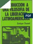 103147245 Introduccion a Una Filosofia de La Liberacion Latinoamericana