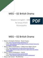 MEG-02 British Drama