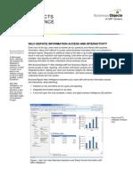 Web Intelligence Product Sheet