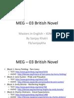 MEG-03 British Novel