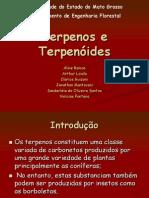BIOQUIMICA -Terpenos e Terpenóides