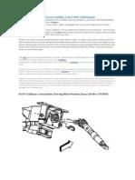2006 Chevy Trailblazer Service Stability Code C0455 C0244 Repair