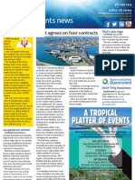 Business Events News for Fri 05 Jul 2013 - Govt agrees on four contracts, Open house at MCEC, Tasting Hong Kong, Gold Coast and much more