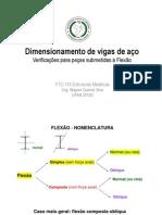 Aula ANTIGA-Dimensionamento Flexao