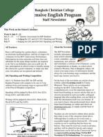 BCC-IEP Newsletter Week 9