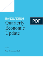 Bangladesh Quarterly Economic Update - March 2012