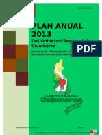 Plan Anual 2013 Gorecaj