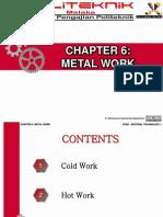 Chapter 6 - Metal Work