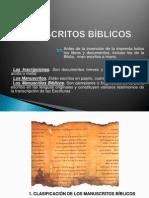 CAP 15 - MANUSCRITOS BÍBLICOS