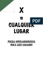 X = CUALQUIER LUGAR