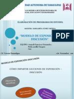 Modelo de Exposicion - Discusion