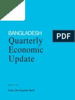 Bangladesh Quarterly Economic Update - December 2011