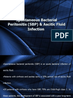 Spontaneous Bacterial Peritonitis (SBP) & Ascitic