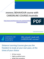 Animal Behavior Course