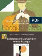 Estrategias de Marketing en Hoteles Boutique